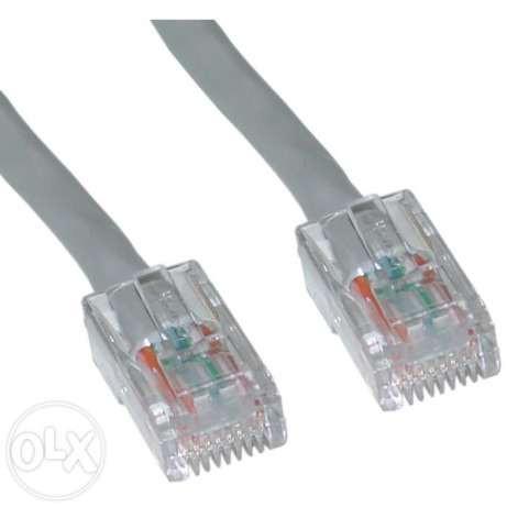 Сетевой кабель (патч-корд) UTP 5E 10 метров