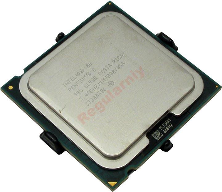 Процессор 2 ядра Intel PENTIUM D 945 3.4GHz LGA775