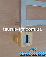 Квадратный золотой ТЭН c маскировкой: экран +регулятор +таймер, под пульт управления (IR) беспроводной. Польша