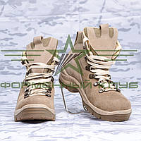 Ботинки зимние нубук Койот (мех)