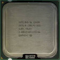 Процессор Intel Core2Duo E8400 3GHz LGA775