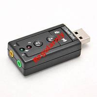 Звуковая карта USB 3D Sound 7.1