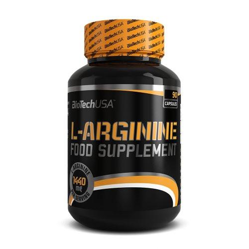Аргинин Biotech USA L-Arginine 90 таб. - www.a-shock.com.ua - интернет-магазин спортивного питания. в Днепре