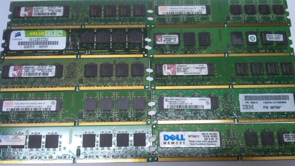АКЦИЯ! Модуль памяти DDR2 1Gb Intel+AMD Гарантия!
