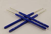 Крючок для вязания с пластмассовой ручкой 2 мм