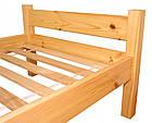 Кровать из массива дерева 065, фото 4