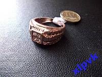 Мужской Перстень 4 камня -19.8р-Rose Gold-ИНДИЯ