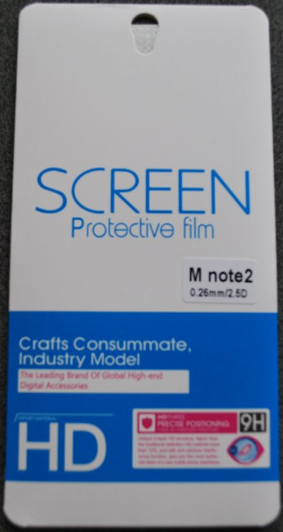 Защитное стекло для Meizu M2 Note, F740