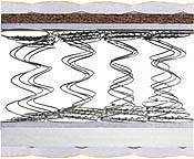 детский матрас Balu / Балу 90х200 Матролюкс h18 Bambino 2в1 зима/лето кокос боннель , фото 3
