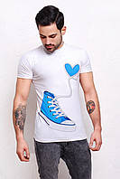 Парные футболки молодожен