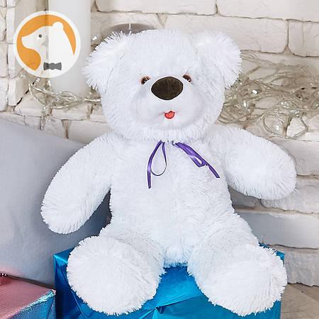 Белый плюшевый медвежонок Малышок