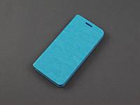 Чехол книжка для Samsung Galaxy A3 2016 A310f голубой