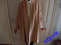Пальто Светло-бежевое,Мохер+ Шерсть,48р,Made in UK