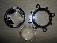 Линза для светодиодов 20-100вт, комплект
