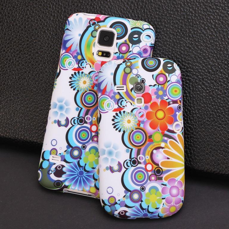 Пластиковый чехол Samsung galaxy S5 i9600, E16