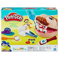Пластилин Плей до Доктор Зубастик Play-Doh Doctor Drill 'N Fill обновленный, фото 1