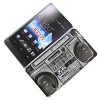 Пластиковый чехол для Sony ST27i Xperia Go, QK302