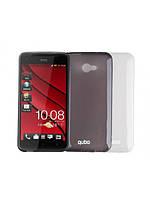 Чехол QUBO HTC Sensation Z710e Tpu case gray