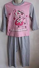 Пижама для девочки 3-7 лет Турция