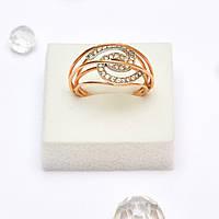 Золотое кольцо с Цирконием 78172
