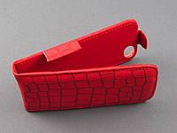 Чехол Evropa флип для Fly IQ4405 Evo Chic красный кроко