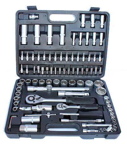 Набір ключів Euro Craft 94 шт, фото 2