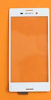 Оригинальный тачскрин сенсор (сенсорное стекло) Sony Xperia M4 Aqua E2303 E2306 E2312 E2333 E2353 E2363 белый