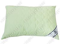 Подушка Merkys 70x70 Mickrofibre фисташковая со съемной стеганой наволочкой