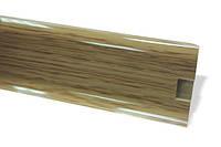 Плинтус 60 мм дуб классик