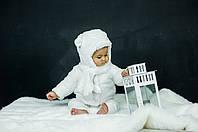 Детская зимняя шапка (набор) для девочек АЙДИ оптом размер 42-44-46