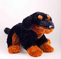 Детская мягкая игрушка,щенок Ротвейлера