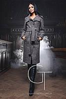 Женское шерстяное пальто PL-8656