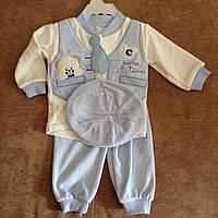 Костюм детский нарядный для новорожденных