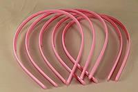 Обруч 0,8 см округлый розовый