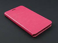 Чехол книжка для Samsung E7 E700h розовая