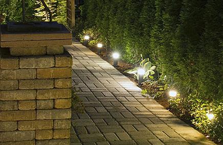 Грунтовые, газоные и тротуарные светильники
