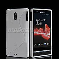 Силиконовый чехол для Sony Xperia P LT22i, QK403