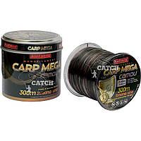 Леска карповая Bratfishing Carp Mega camou 300м