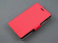 Чехол книжка для Microsoft Lumia 435 Nokia красная