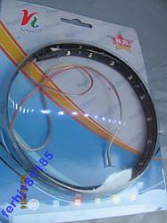 Світлодіодна стрічка 15 SMD 60 см колір білий