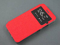 Чехол книжка для Lenovo S60 красная