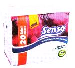 Сенсо бумажная еко салфетка (100шт)