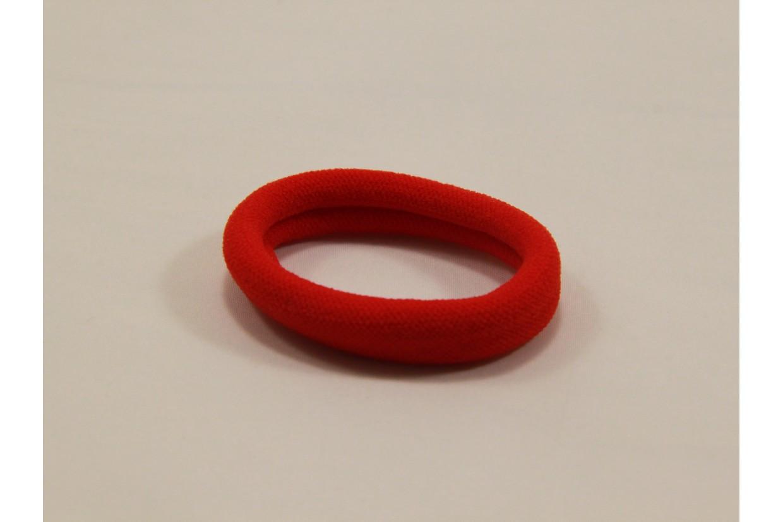 Резинка для волос нейлон красная  3 см