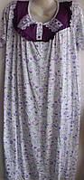 Женская ночкая рубашка M-3XL Турция