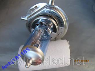 Лампа Н4 Р43 12V 60/55W SCT -Ефект ксенон