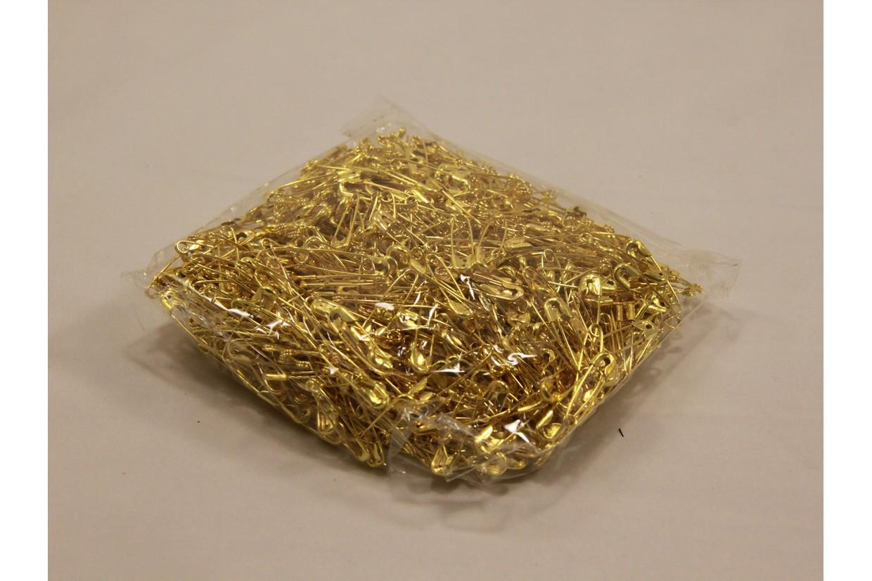Булавка английская золото 2 см
