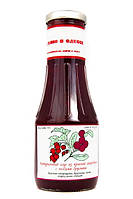 """Натуральный соус из красной смородины с ягодами брусники  ТМ """"С веточки"""", 330 г"""