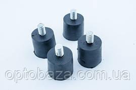 Комплект ножек амортизатора 4 шт для генераторов 0,75 кВт - 1,2 кВт, фото 3