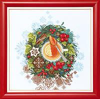 """Набор для вышивания крестом Crystal Art """"Рождественский чай"""""""