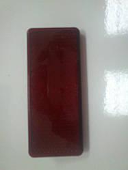 Світловертаючий (катафот) прямоуктний червоний з шпилькою ГАЗ
